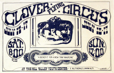 Clover/Flying Circus - Poster by Buehler