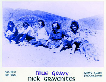 Blue Gravy - picture courtesy of Mike Somavilla