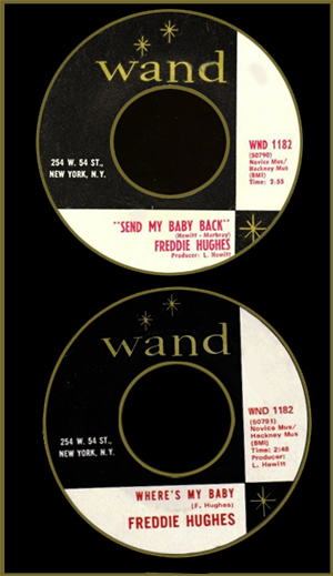 Send My Baby Back b/w Where's My Baby (1970)